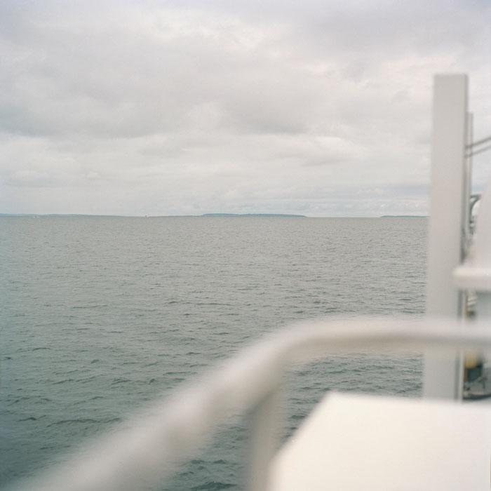 en mer / vers Aran