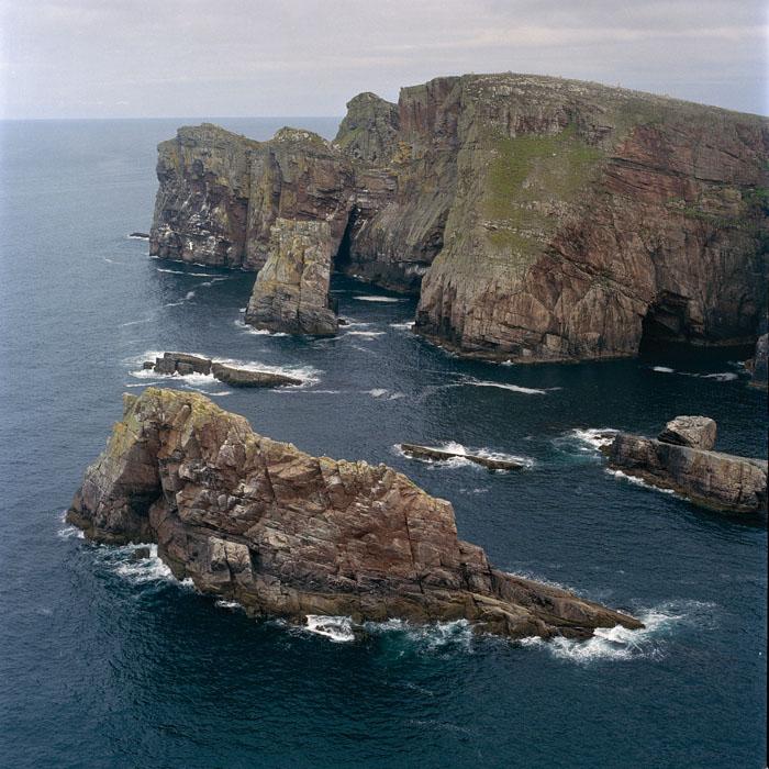 en haut / Tory island