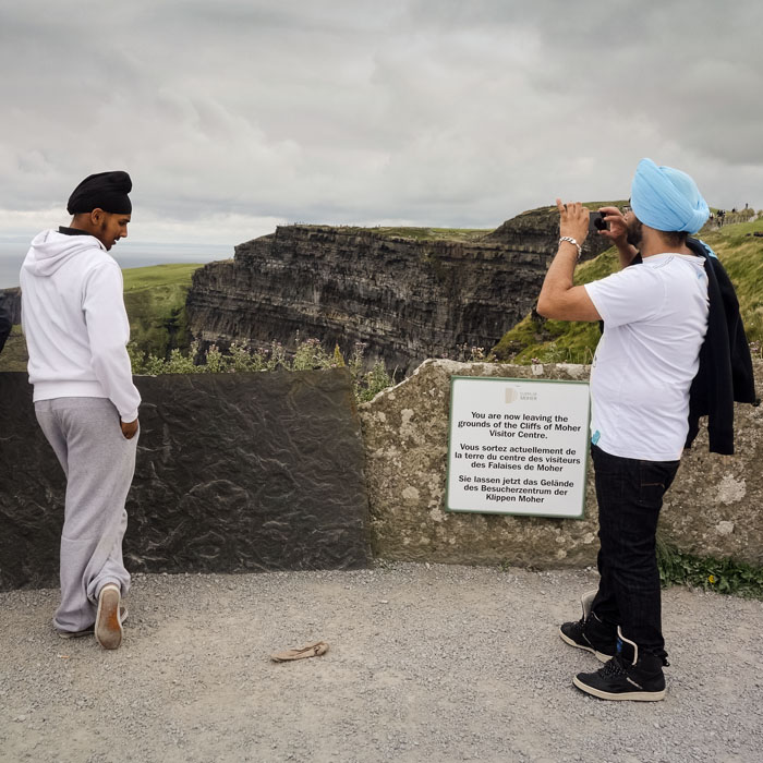 touriste / Cliffs of Moher