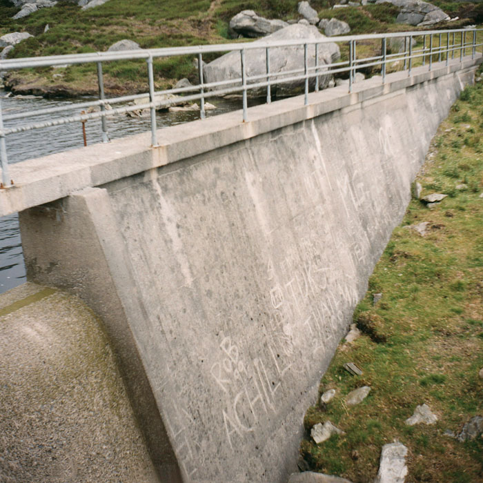béton, concrete / Achill island