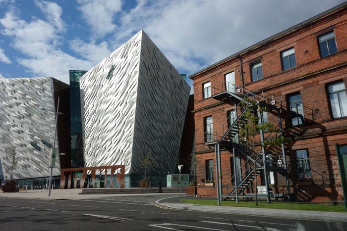 Belfast 2015, le quartier Titanic