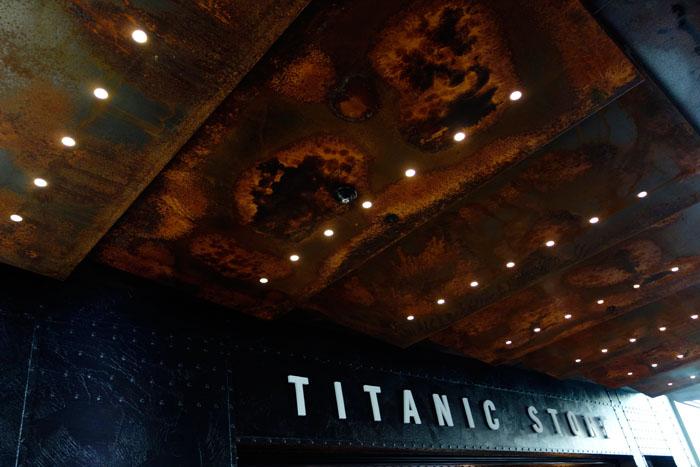Belfast 2015, musée Titanic