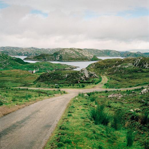 vers le Cap Wrath, Ecosse