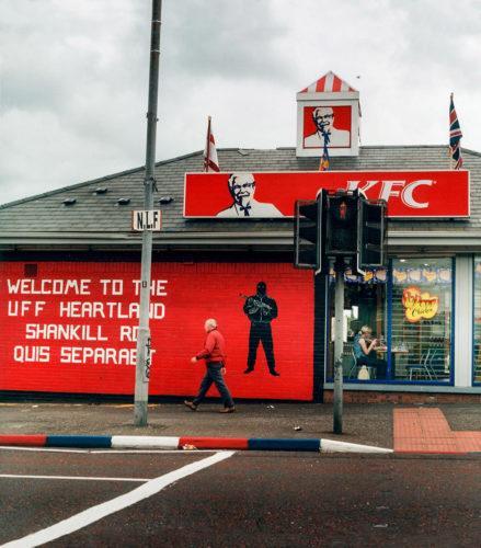 Belfast, Shankill Road, Irlande du nord, 2001
